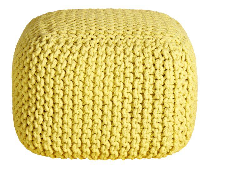 Entdecken Sie Das Produkt KNOT Gelbes Sitzkissen Bei Habitat. Habitat Ist  Designermöbel Hersteller Seit Hier Finden Sie Designermöbel, Sofas Und  Accessoires ...