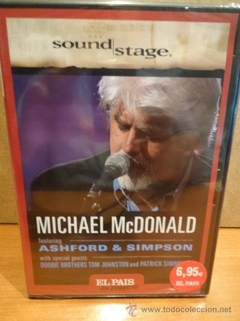 MICHAEL McDONALD. EL SONIDO DE LOS DOOBIE BROTHERS. CONCIERTO EN DIRECTO. DVD PRECINTADO