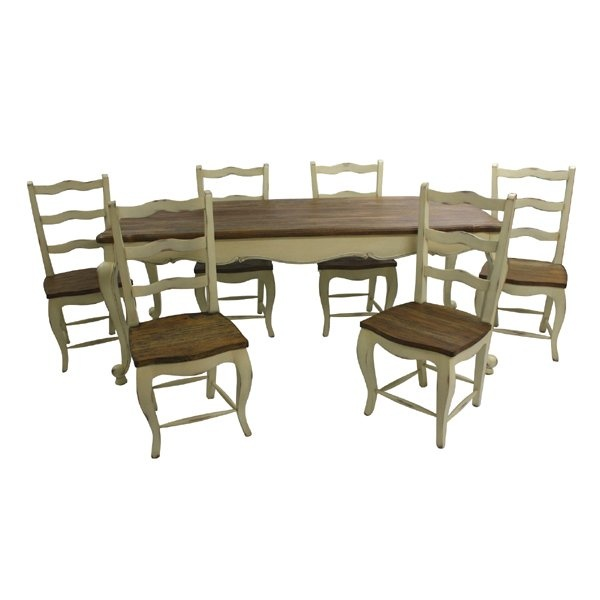 19 best dining room furniture from chichi images on for French farmhouse dining chairs