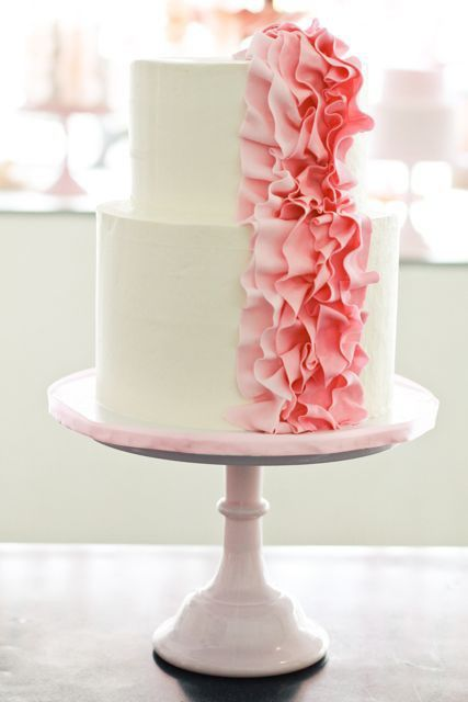 Lila Grace: Confectionery Love: Ruffled Cakes