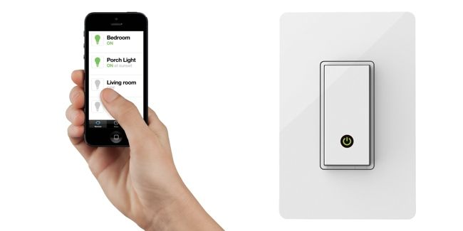 The Best of Home Automation: Belkin WeMo Light Switch.. see more by clicking!