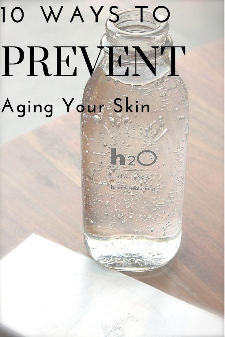 Top 10 Möglichkeiten wie Sie Ihre Haut altern