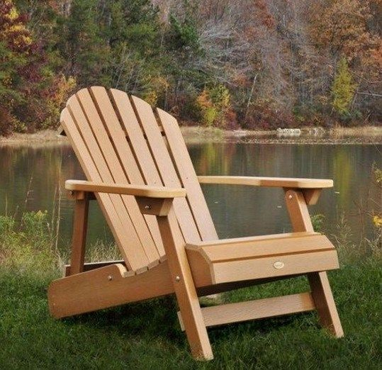 Share Tweet Pin Mail Do It Yourself Backyard Lounger (Adirondack Chair) For Your Patio Project. This is a comfortable Westport plank chair, with rustic ...