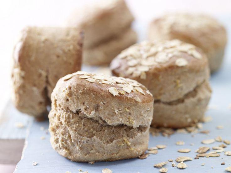 Haferflocken-Scones - mit Joghurt gebacken - smarter - Kalorien: 252 Kcal - Zeit: 30 Min. | eatsmarter.de