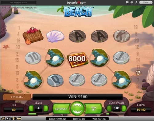Net Entertainment new slot Beach and first Big Win!!  You can find hundreds of Big Win pictures and more videos here: http://www.bigwinpictures.com