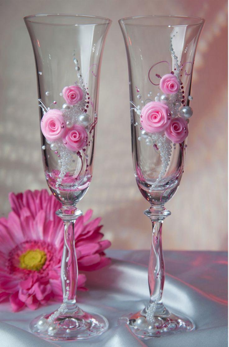 Свадебный бокал №107