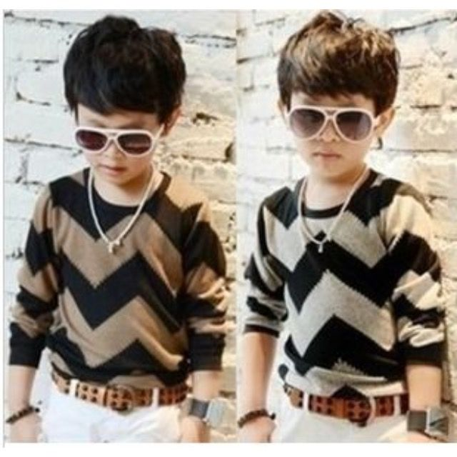 Boys Master Chevron Knit