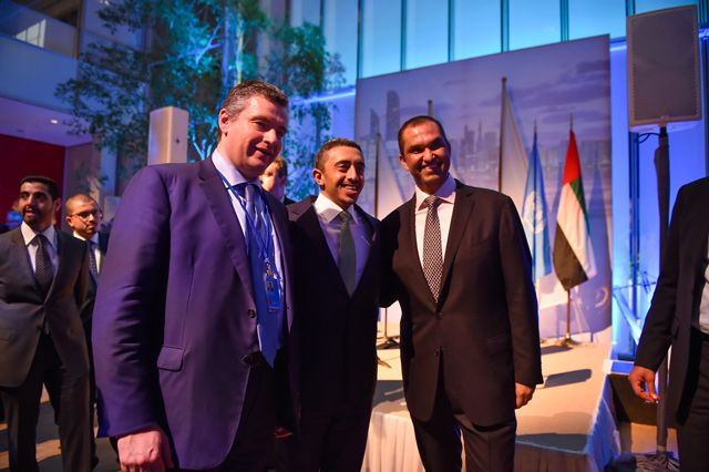 Sheikh Abdullah bin Zayed Al Nahyan, Minister of Foreign Affairs and International Cooperation, has hosted an official reception on the sidelines of the 72nd session of the UN General Assembly, at the headquarters of the famous Morgan Museum Morgan in New York City. In a brief address on behalf...