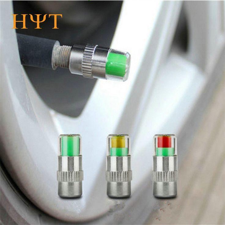 4 Teile/satz Auto Auto-druck-monitor-ventilschaft-cap-sensor-anzeige Kappe Hochwertigen Sensor Anzeige Diagnose-Tools für Druck & Vakuum Tester