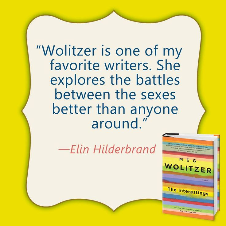 14 best teens boarding school shenangians images on pinterest new york times bestselling author elin hilderbrand tells bookish the interestings by meg wolitzer is the fandeluxe Choice Image