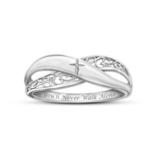 Bradford exchange: never alone: would like this for mini me purity ring