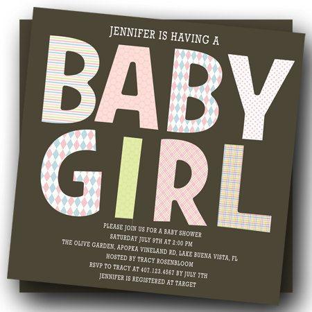 Baby Girl Shower Invitation Printable Invite for by thepartystork, $13.00