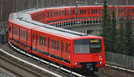 Helsinki, Finland, Metro.