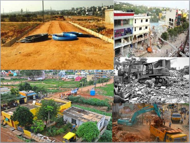 In the largest recovery of government land in Bengaluru, district administration demolished hundreds of illegal buildings and reclaimed land worth Rs 7,551 crore. The reclaimed land includes 711 acres of Kadugodi Plantation forestland.