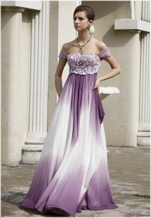 56 best wedding dress colourful bunt images on Pinterest | Looking ...