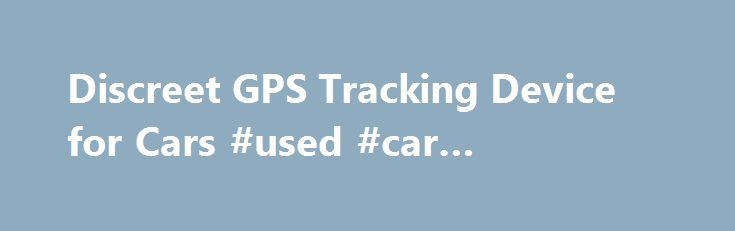 Gps tracking device for teenage