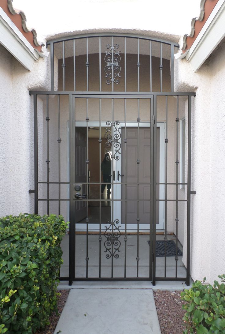 Wrought Iron Entry Gate Wrought Iron Doors Wrought Iron