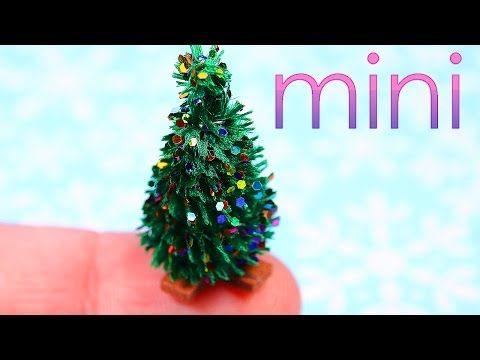 Miniature Tiny Christmas Tree Tutorial
