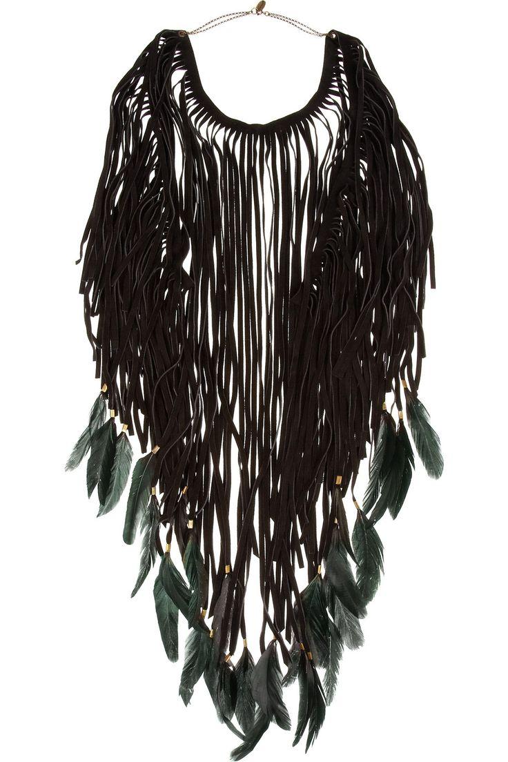 Holiday 2011 Wish List: Isabel Marant Dakota Feather Necklace