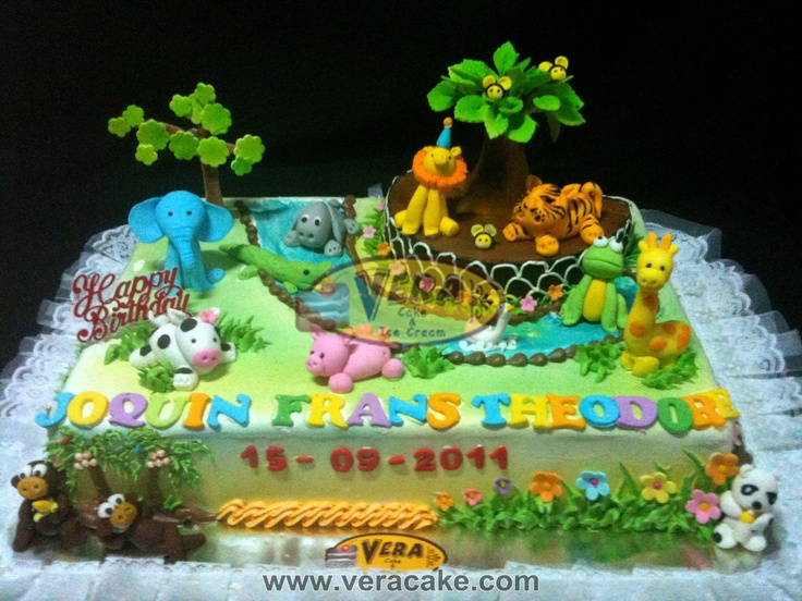 17 best images about zoo birthday cakes on pinterest for Abc cake decoration
