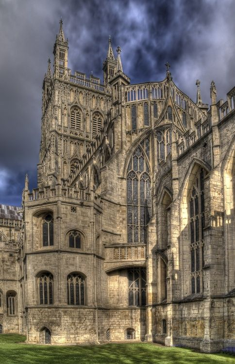 Gloucester Cathedral, UK #Gothic - construction dating from 1089 up to 15th century