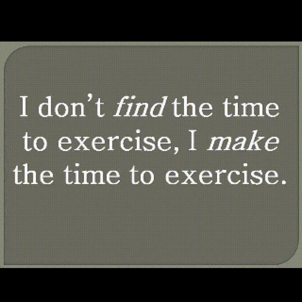 No Excuses: Make Time