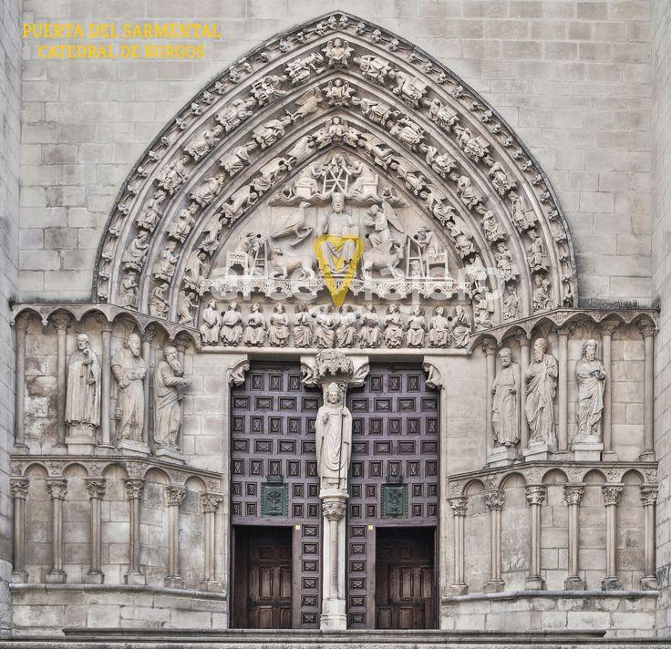 Puerta del Sarmental, Catedral Burgos, Götico
