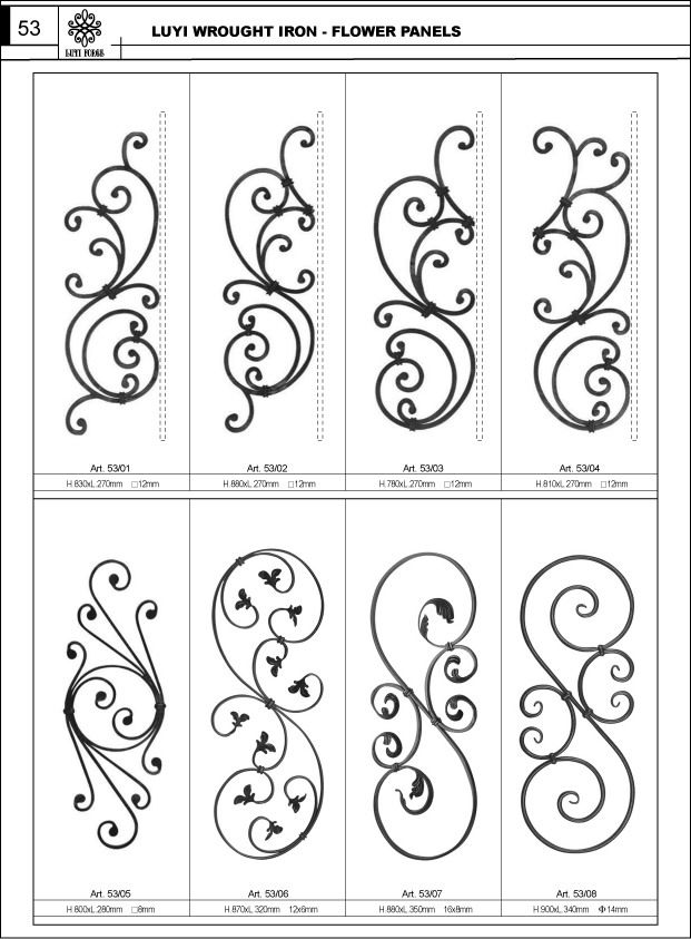 scroll ironwork - Google Search
