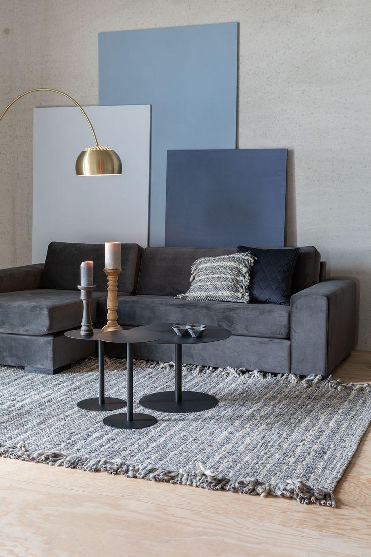 Blauw Kleurenschema Praktische İnformatie Wohnzimmer Farbe Wohnzimmer Design Wohnzimmer Grau