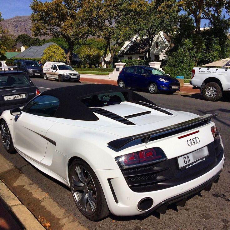 Epic Audi R8 GT Spyder spotted in Franschhoek by the main spotted there @carspotterfranschhoek  #ExoticSpotSA #Zero2Turbo #SouthAfrica #Audi #R8 #GT #Spyder