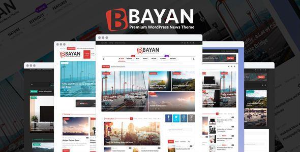 Bayan Newspaper Magazine Wordpress Theme Free Download