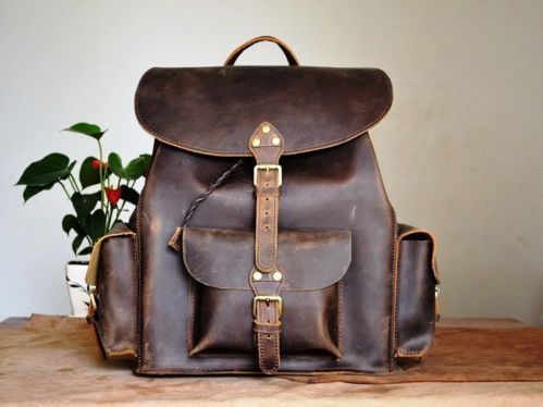 66 best Style backpacks images on Pinterest | Leather backpacks ...