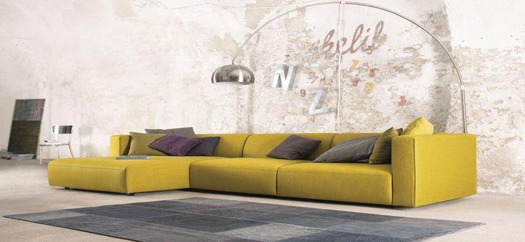 Yellow Sofa: A Sunshine Piece for Your Living Room www.bocadolobo.com #bocadolobo #luxuryfurniture #interiodesign #designideas