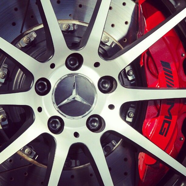 Major stopping power. #AMG