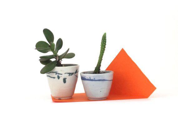 handmade succulents pot la petite fabrique de by Sciallanolucile, $17.00
