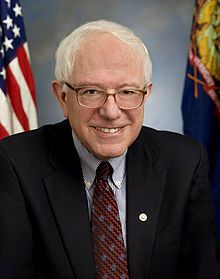 "Bernie Sanders, United States Senator from Vermont.  Bernie is one of the extremely rare politicians who actually works very hard to assure that the average middle class citizen gets ""a fair shake"".  He is not enamored with wealth (unlike most of his peers) and he honestly wants ALL of us to have a better life.  For this, I admire him."