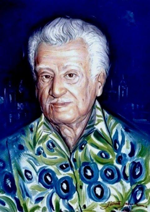 Retrato de Jorge Amado - 2002 OST - 70x50
