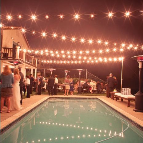 So doing these lights over the new pool! Love it!
