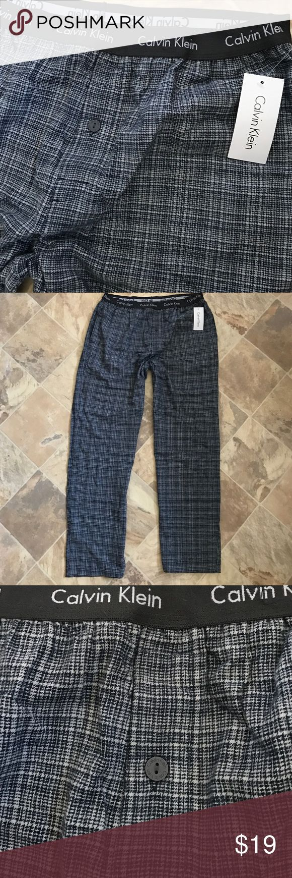 Calvin Klein Men Underwear Pajama Pants Plaid Navy 100% authentic and brand new. $40 original price. The price tag is still attached. Big sale here! ♡Unlike other sellers who would raise the price and ask you to make an offer, I set the price way below the original price for a fast and easy Buy It Now transaction here. That's your biggest discount! And if you still want to save a bit more, simply check out my other listings for a bundled sale. Thank you and have a great weekend! Calvin Klein…
