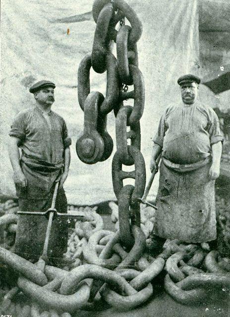 Anchor Men - Titanic
