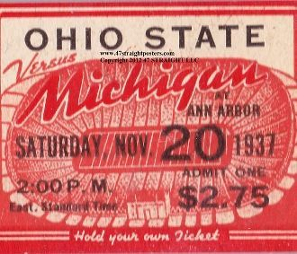 Image result for vintage ohio state football