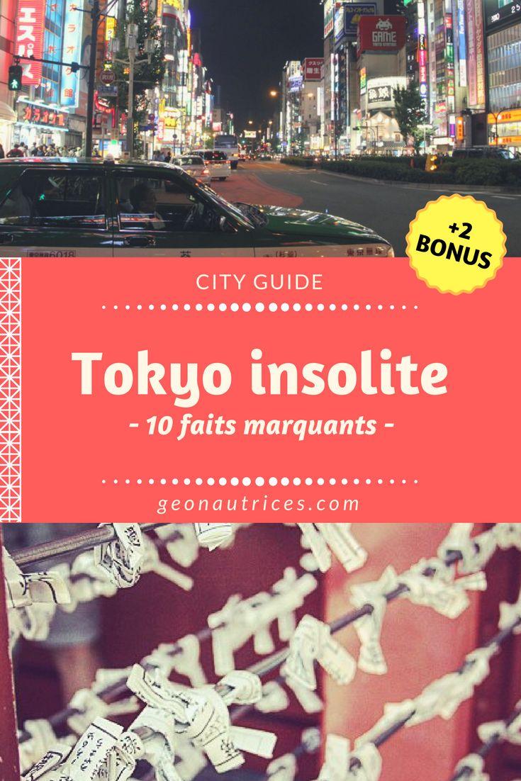Un city guide de Tokyo insolite. Vous retrouverez 10 faits marquants lorsqu'on voyage à Tokyo et nous vous dévoilons 2 activités peu connues pour votre prochain voyage au pays du soleil levant ! ;)