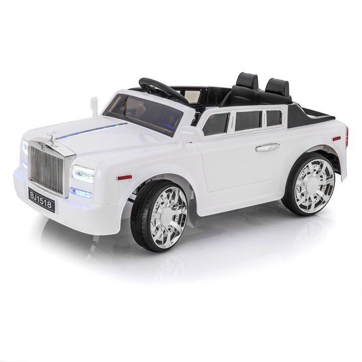 SPORTRAX ROLLS ROYCE STYLE PHANTOM 1 SEATER KIDS 12V RIDE-ON CAR | WHITE