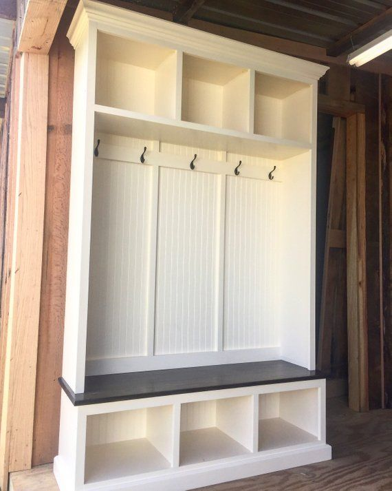 The Pennsylvania 2 Section Mudroom Bench Entryway Bench Storage Diy Storage Bench Bench With Shoe Storage