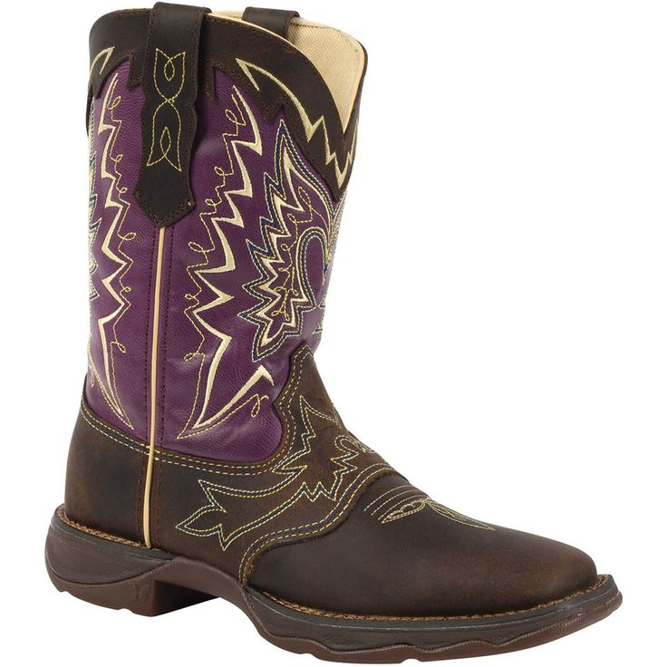 "Let Love Fly 10"" Lady Rebel by Durango Women's Western Boots – Style #RD027 - Durango Boot Company"