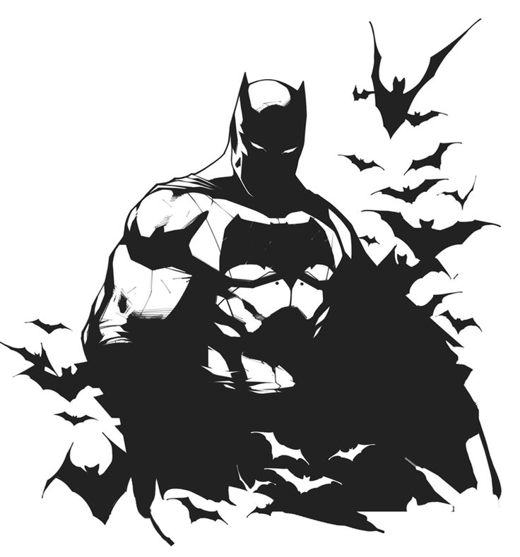 The Dark Knight - Inks