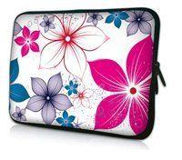 11.6  12  красочные цветы дизайн ноутбука чехол нетбук сумка для лощине Acer Thinkpad sony, водонепроницаемый, ударопрочный