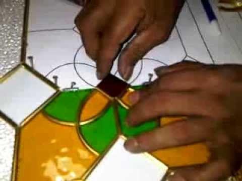 Kaca Patri | Teknik Dan Cara Membuat Kaca Patri ( Making a Stained Glass...