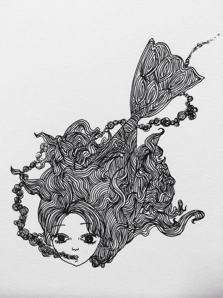 Illustration, lines, ink, design