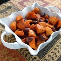 Cinnamon Almond Sweet Potatoes